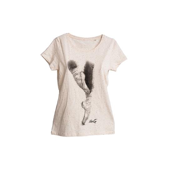 likeG t-shirt slim front