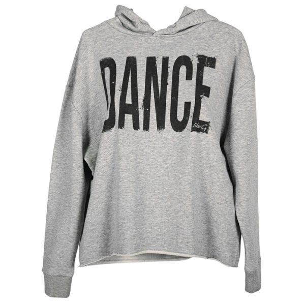 likeG Grå sweater front